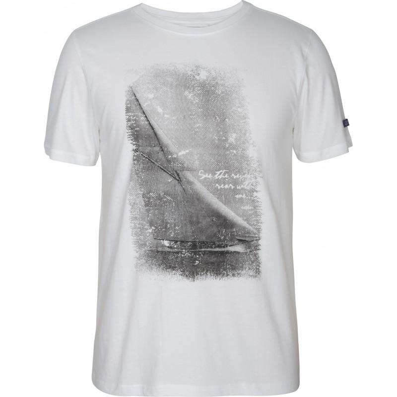 Camiseta  de manga corta velero