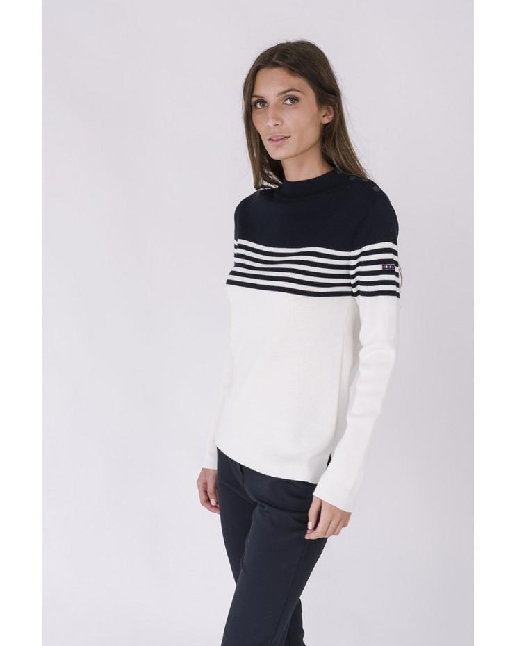 Jersey lana con cuello